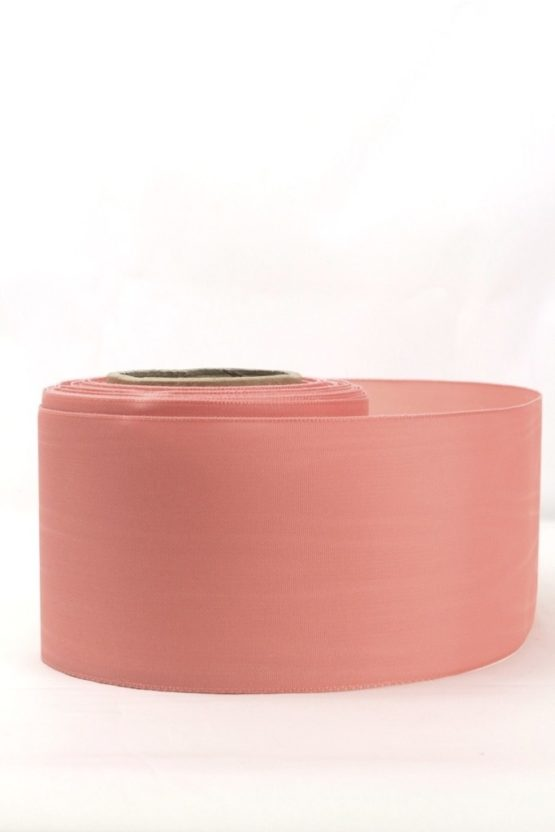 Moiré-Band 75 mm, geranie - verzugsmoire, sonderposten, moire-band