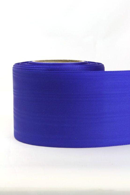 Moiré-Band 75 mm, königsblau - verzugsmoire, sonderposten, moire-band