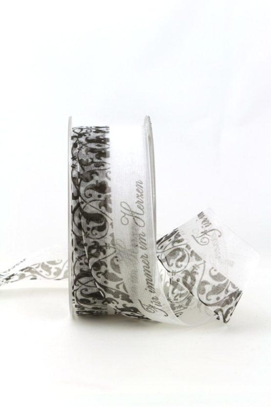 Trauerband Für immer im Herzen, 40 mm - trauerband