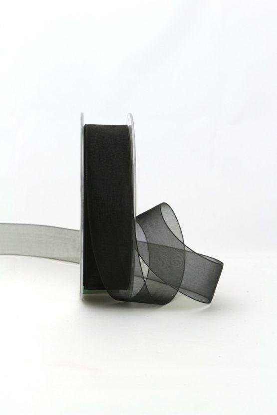 Trauerflor, 25 mm, schwarz - trauerband